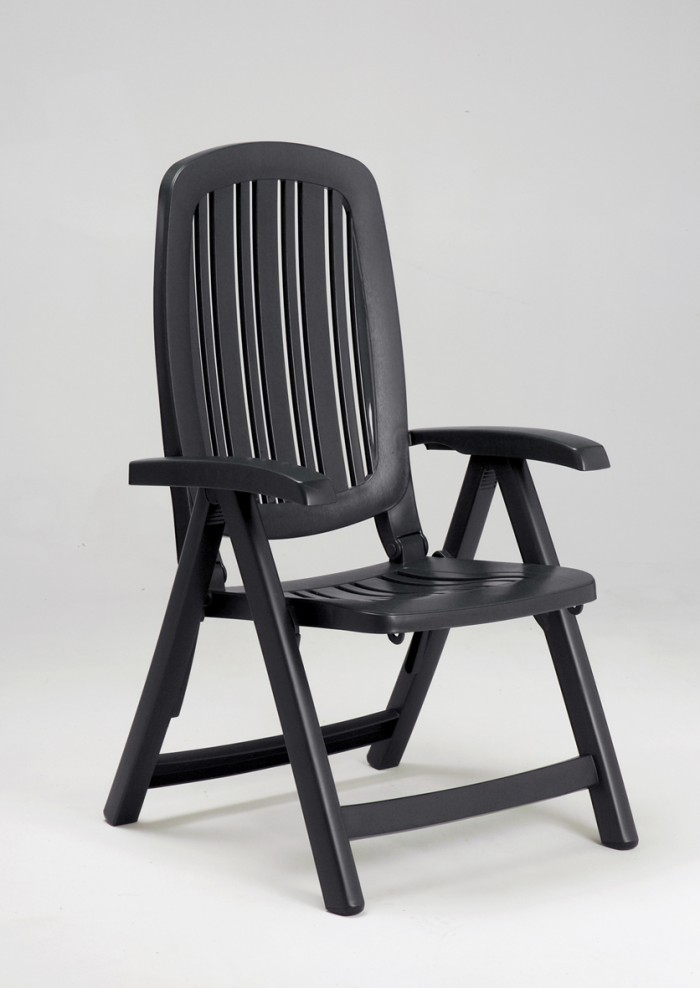 Leżak Składany Fotel Pozycyjny Salina Leżak Leżanka